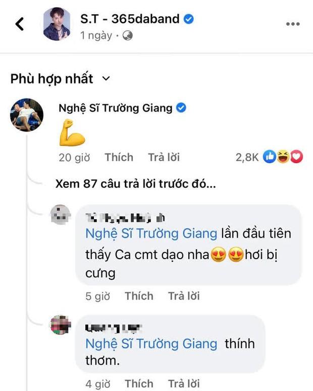 Netizen lần đầu tóm được Trường Giang đi comment dạo ở ảnh khoe body của S.T: Nói gì mà rần rần cỡ này? - Ảnh 4.