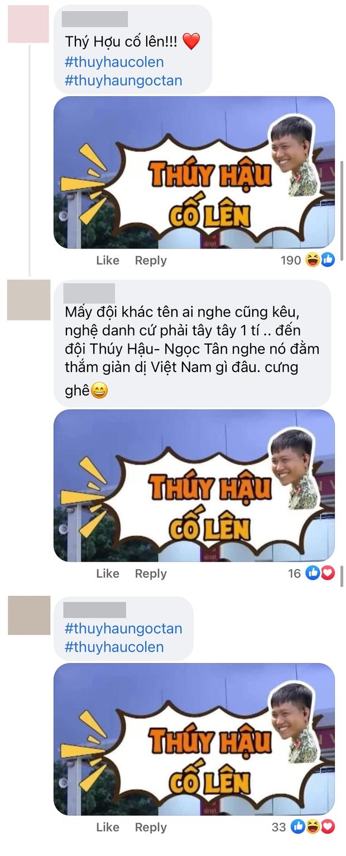 Netizen spam ảnh Mũi trưởng cổ vũ Hậu Hoàng, cà khịa nụ hôn tình bạn khi nghe Thái Ngân tham gia show vũ đạo - Ảnh 2.