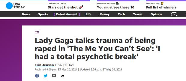 Sốc: Lady Gaga tiết lộ từng bị một nhà sản xuất âm nhạc cưỡng hiếp nhiều lần trong quá khứ, phải phá thai ở tuổi 19 - Ảnh 4.