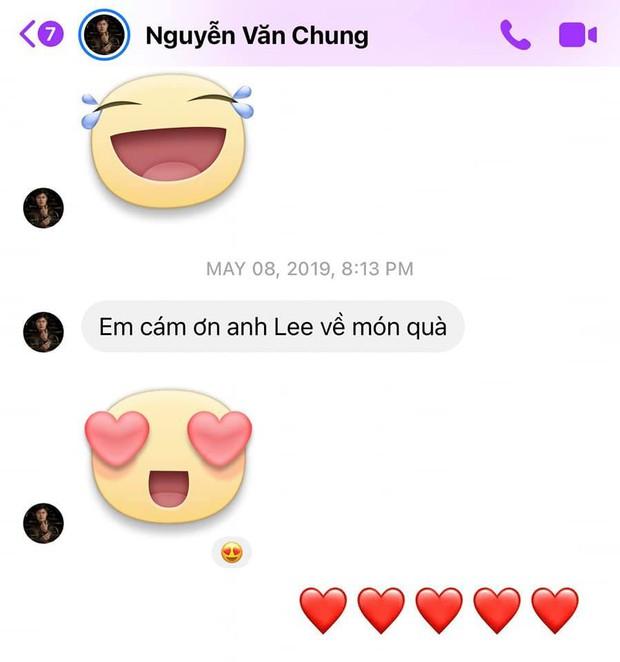 Lộ tin nhắn nhạc sĩ Nguyễn Văn Chung cảm ơn Nathan Lee vì món quà giữa lùm xùm bán hit - Ảnh 2.