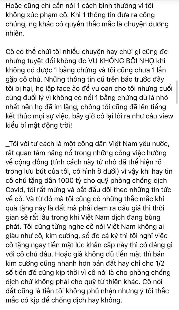 """Vy Oanh lên tiếng kể rõ nguyên nhân """"khẩu chiến"""" với đại gia Phương Hằng, cả thông tin làm vợ bé và """"đẻ thuê"""" cho đại gia 70 tuổi! - Ảnh 3."""