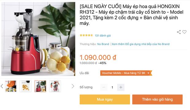 Thứ 6 sale sốc: Máy ép chậm chưa bao giờ rẻ đến thế: Sale đến 60%, từ 500k rinh được một chiếc ok lah - Ảnh 8.