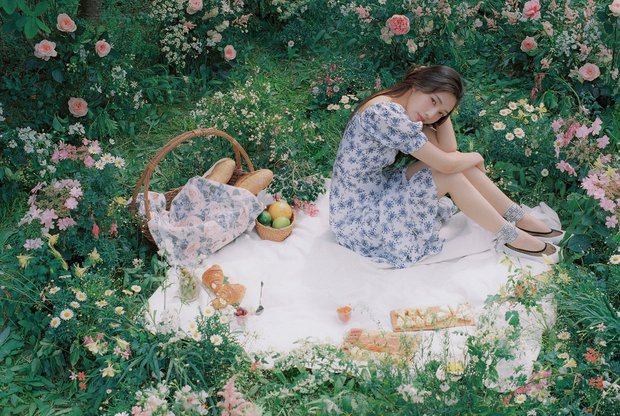 MXH Hàn náo loạn vì bộ ảnh phim của mỹ nhân mới được khai quật, đẹp đến mức này bảo sao dọa soán ngôi nữ thần của Irene - Ảnh 3.