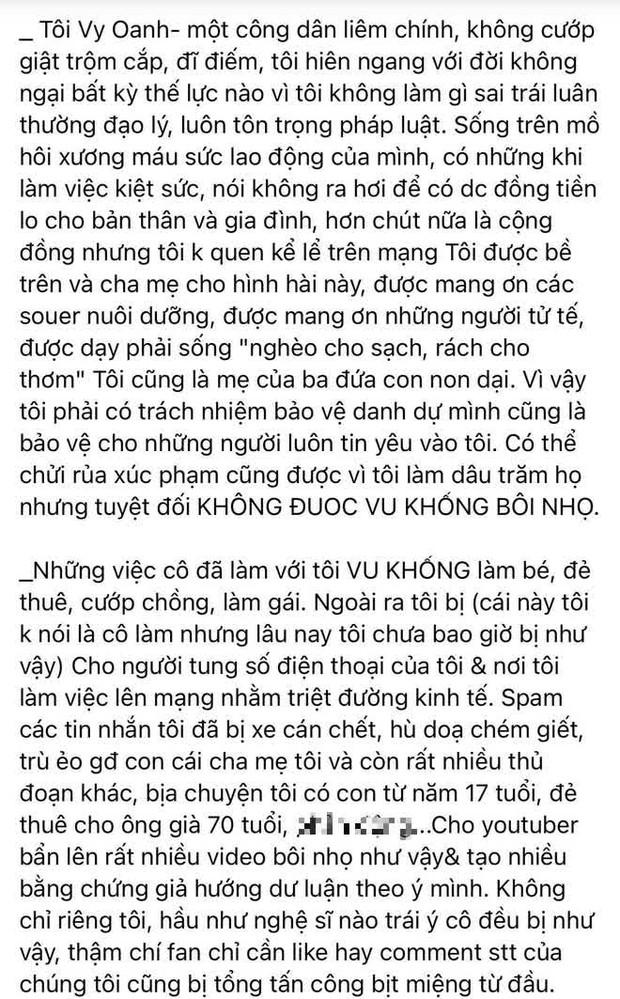 """Vy Oanh lên tiếng kể rõ nguyên nhân """"khẩu chiến"""" với đại gia Phương Hằng, cả thông tin làm vợ bé và """"đẻ thuê"""" cho đại gia 70 tuổi! - Ảnh 4."""