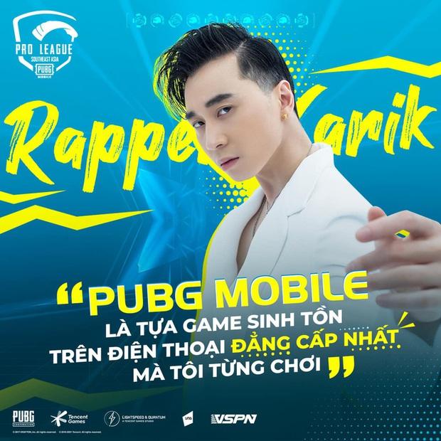 Rapper Karik: Hy vọng các tuyển thủ PUBG Mobile sẽ giương cao lá cờ Việt Nam tại đấu trường quốc tế - Ảnh 2.