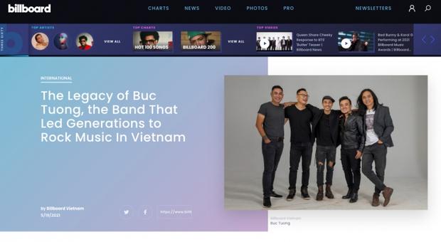 Nhóm nhạc đầu tiên của Việt Nam lên tạp chí Billboard, được ca ngợi là ban nhạc dẫn dắt nhiều thế hệ nhạc rock - Ảnh 1.