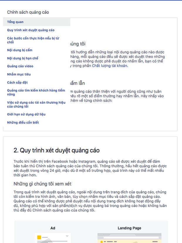 Bị phàn nàn chính sách quảng cáo mới quá khắt khe, Facebook phản hồi: Đối tác hãy đọc thật kỹ các quy định! - Ảnh 3.