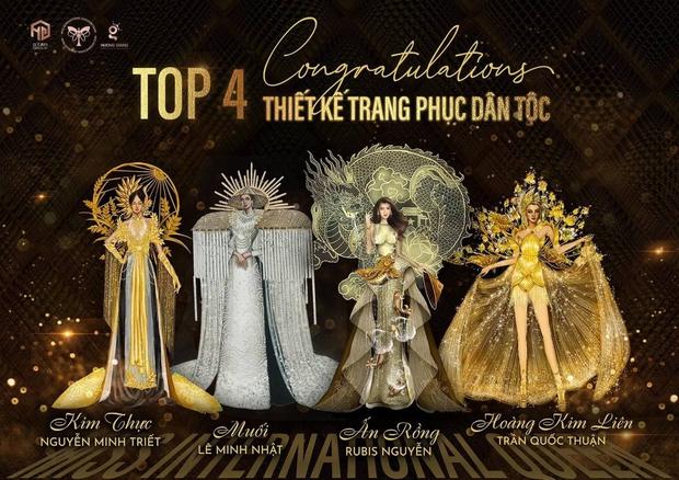 Lộ diện top 4 trang phục dân tộc cho Trân Đài nhưng fan lo đi vào vết xe đổ của HHen Niê, Hoàng Thùy - Ảnh 1.