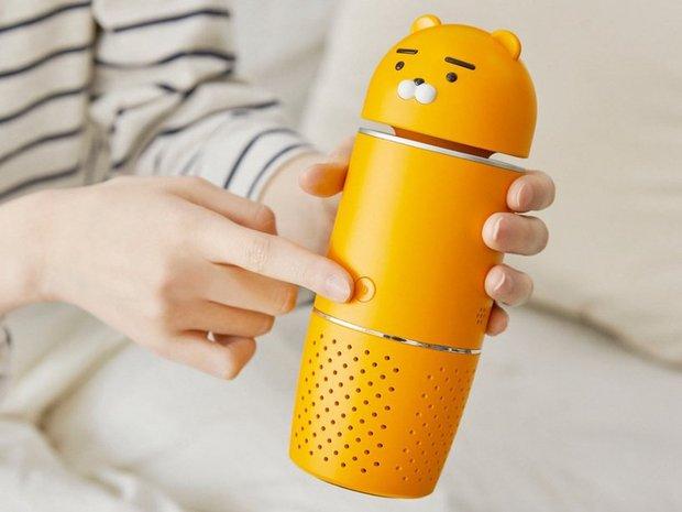 Kakao Friends có cả loạt đồ cưng xỉu cho mùa dịch: Từ máy tiệt trùng cầm tay đến máy rửa tay cảm biến - Ảnh 9.