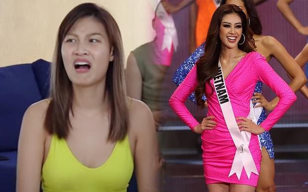 Người đẹp Asias Next Top Model có biểu cảm khó ở khi Khánh Vân lọt top 21 Miss Universe - Ảnh 6.