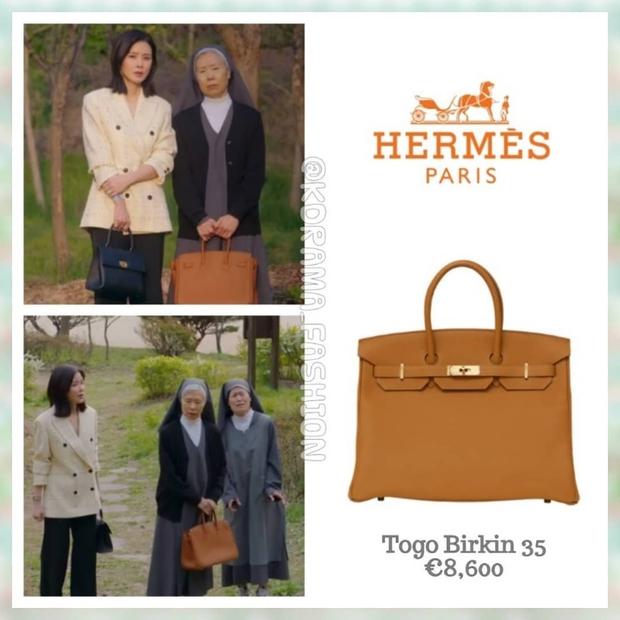 Loá mắt với bom tấn 18+ Mine: Đến bà tu sĩ cũng dùng túi Hermès, cả phim ngập tràn hàng hiệu như fashion show - Ảnh 3.