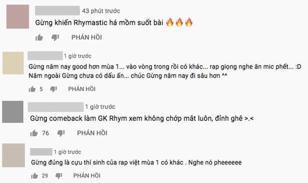 Gừng bứt phá tại casting Rap Việt mùa 2, bắn rap đỉnh đến nỗi Rhymastic không thể rời mắt! - Ảnh 3.