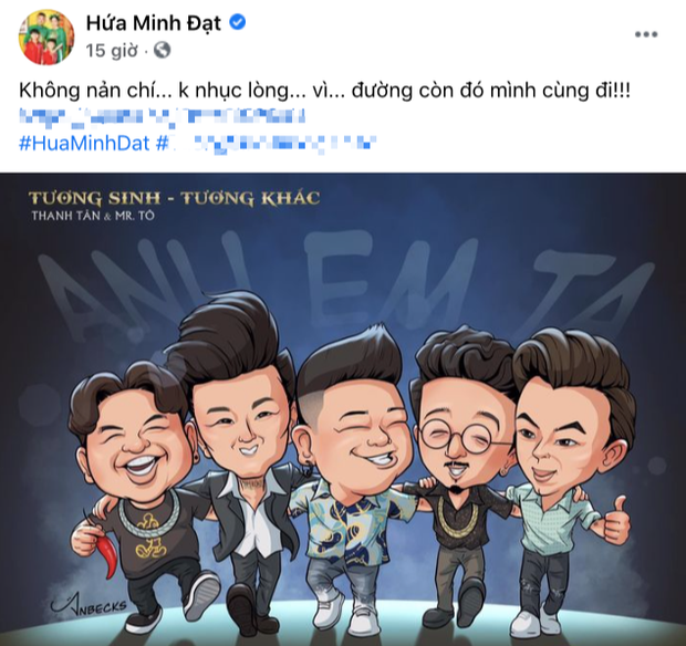 Động thái của Hứa Minh Đạt giữa lùm xùm đăng clip bắt trend kém duyên - Ảnh 2.