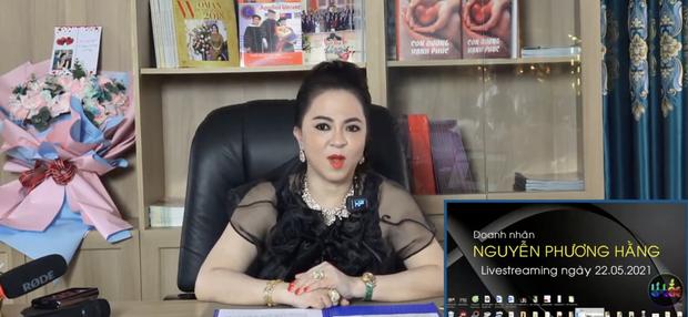 Bà Phương Hằng liên tục gặp sự cố khi livestream: Đang mắng hăng hái thì chồng gọi điện, Facebook khoá sạch chức năng - Ảnh 1.
