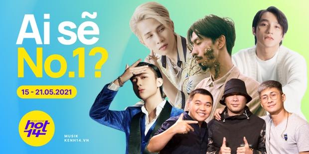 Đen Vâu, MTV Band đang là ẩn số đe doạ cho vị trí No.1 HOT14, Sơn Tùng M-TP và Jack đang đứng ở đâu? - Ảnh 1.