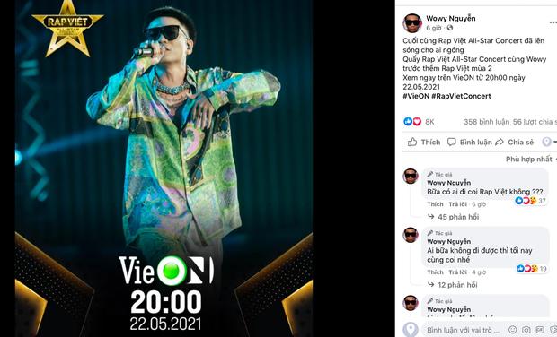 Rhymastic gọi Rap Việt Concert là hàng khủng giấu tới bây giờ, Binz, Karik, Wowy và Anh Tú đều đã sẵn sàng, còn bạn? - Ảnh 2.