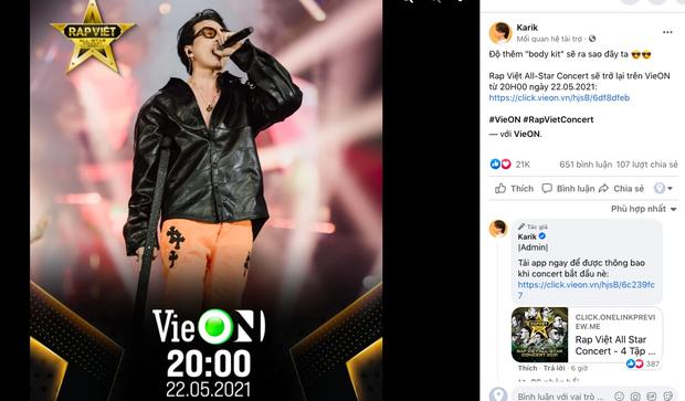Rhymastic gọi Rap Việt Concert là hàng khủng giấu tới bây giờ, Binz, Karik, Wowy và Anh Tú đều đã sẵn sàng, còn bạn? - Ảnh 3.
