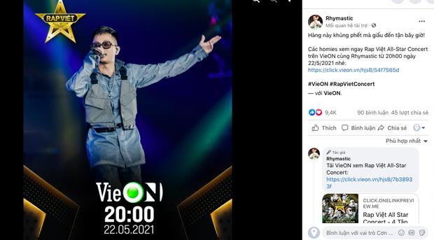 Rhymastic gọi Rap Việt Concert là hàng khủng giấu tới bây giờ, Binz, Karik, Wowy và Anh Tú đều đã sẵn sàng, còn bạn? - Ảnh 4.