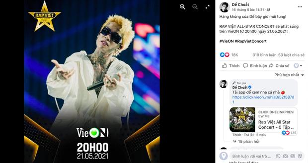 Rhymastic gọi Rap Việt Concert là hàng khủng giấu tới bây giờ, Binz, Karik, Wowy và Anh Tú đều đã sẵn sàng, còn bạn? - Ảnh 6.