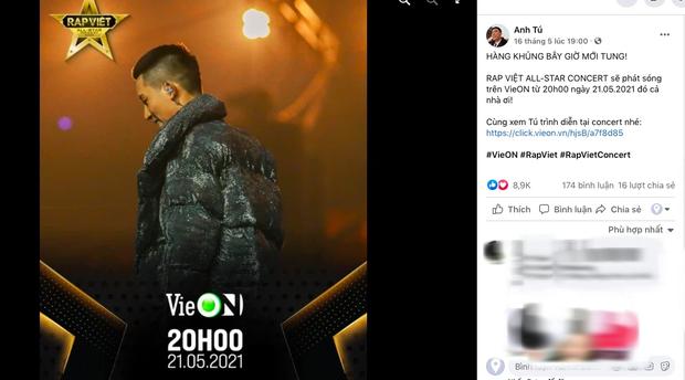 Rhymastic gọi Rap Việt Concert là hàng khủng giấu tới bây giờ, Binz, Karik, Wowy và Anh Tú đều đã sẵn sàng, còn bạn? - Ảnh 5.