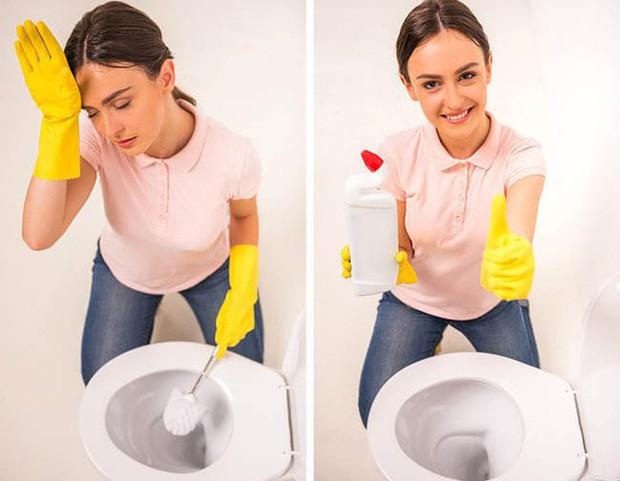 10 mẹo làm sạch đồ dùng trong nhà siêu nhanh gọn cho người lười, bỏ vài phút là thấy ngay thành quả - Ảnh 4.