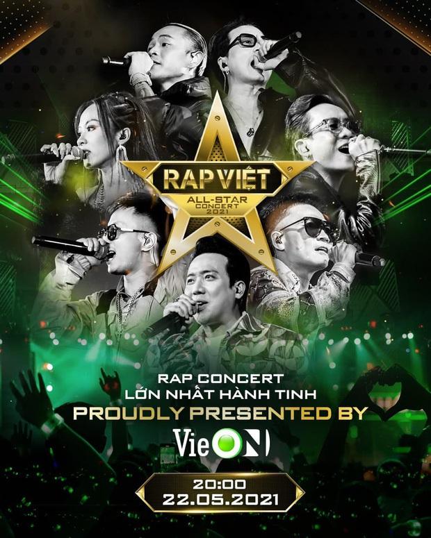 Thành Cry debut diễn bài hát đầu đời với Rhymastic, JustaTee bế MCK lên quẩy tưng bừng tại Rap Việt Concert - Ảnh 1.