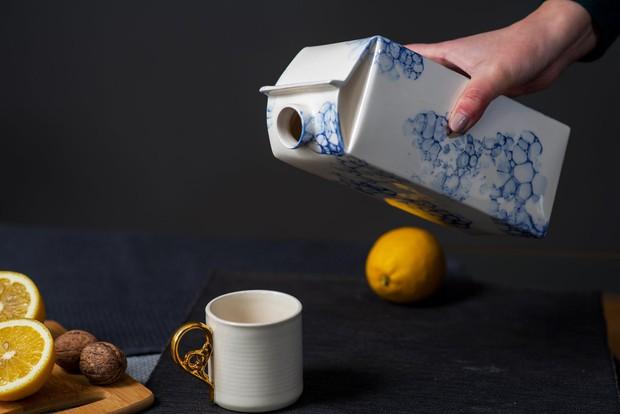 Bình đựng sữa làm bằng sứ, giá bán gần 2 triệu/chiếc - Ảnh 4.