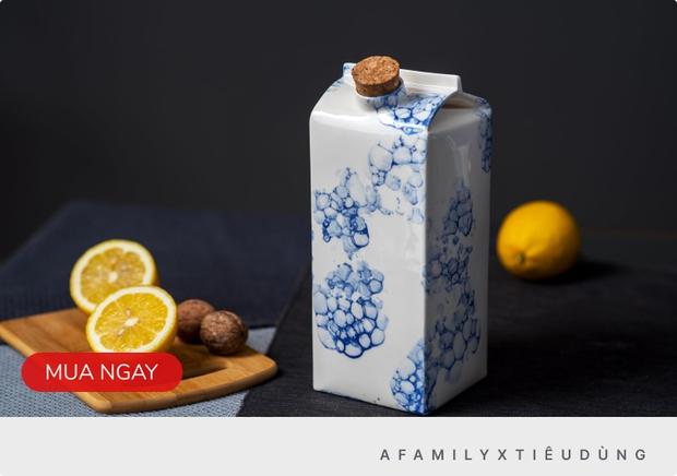 Bình đựng sữa làm bằng sứ, giá bán gần 2 triệu/chiếc - Ảnh 5.