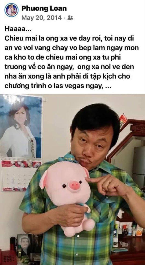 5 tháng sau khi NS Chí Tài qua đời, ca sĩ Phương Loan chia sẻ lại kỷ niệm xưa kèm vỏn vẹn  2 chữ nhưng gây đau lòng! - Ảnh 2.