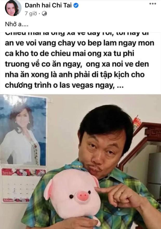 5 tháng sau khi NS Chí Tài qua đời, ca sĩ Phương Loan chia sẻ lại kỷ niệm xưa kèm vỏn vẹn  2 chữ nhưng gây đau lòng! - Ảnh 3.