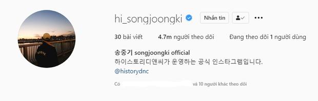 Nam thần Song Joong Ki và màn sống ảo như bao người: Đổi tên Instagram có... 50 lần thôi, có gì mà sửa lắm thế? - Ảnh 2.