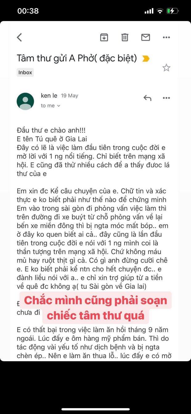 Cảnh báo lừa đảo: Gửi email xin tiền giống y hệt nhau đến loạt nghệ sĩ và KOLs Việt, Đức Phúc tưởng là fan nên đã trở thành nạn nhân - Ảnh 4.