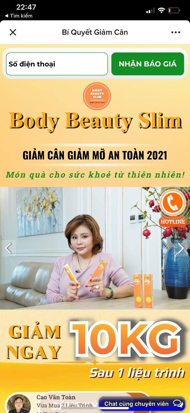 Hàng loạt người nổi tiếng quảng cáo thổi phồng công dụng thực phẩm chức năng trên TikTok: Không ăn kiêng, không tập luyện mà vẫn giảm từ 5kg đến 20kg? - Ảnh 3.