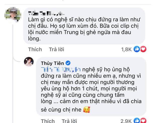 Thuỷ Tiên lên tiếng nói rõ quan điểm chuyện nghệ sĩ làm từ thiện giữa lúc NS Hoài Linh gặp biến căng vụ 13 tỷ cứu trợ miền Trung - Ảnh 2.