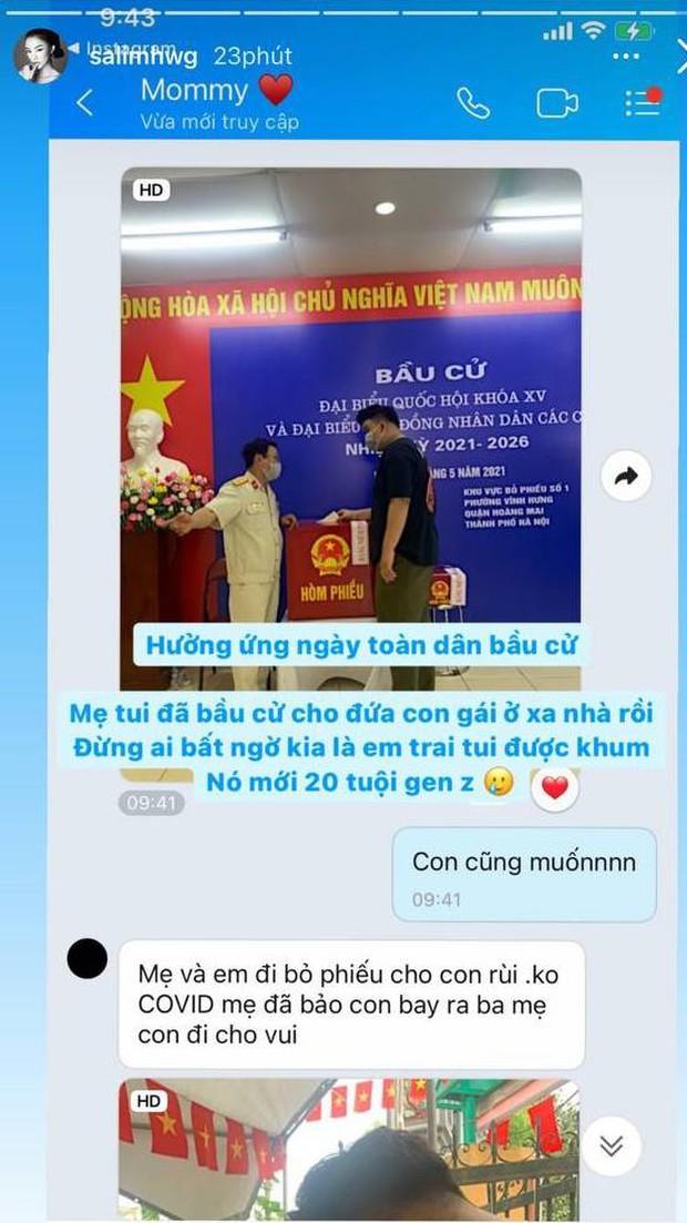 Sao Việt nô nức đi bầu cử: Tiểu Vy, Huyền My dậy sớm làm thanh niên gương mẫu, Khánh Vân từ Mỹ cũng hào hứng hưởng ứng - Ảnh 9.
