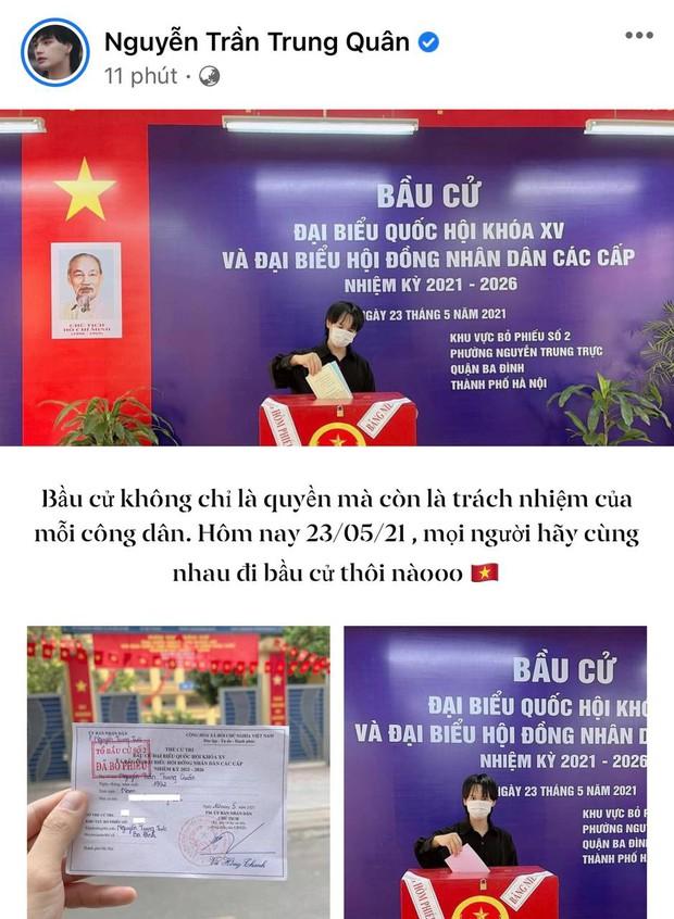 Sao Việt nô nức đi bầu cử: Tiểu Vy, Huyền My dậy sớm cùng dàn hậu bỏ phiếu, Khánh Vân từ Mỹ cũng hào hứng hưởng ứng - Ảnh 15.