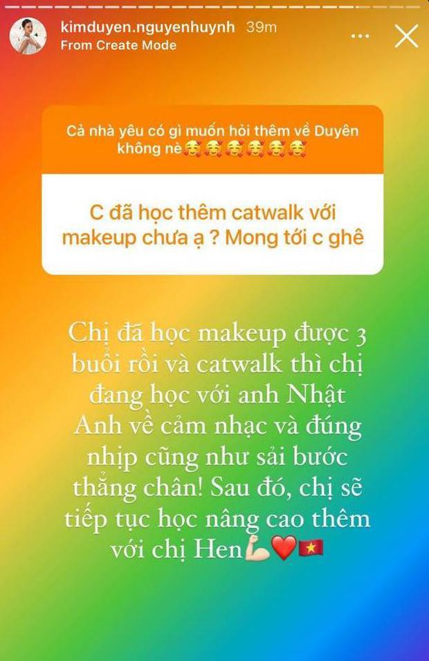Á hậu Kim Duyên mở hẳn Q&A về Miss Universe 2021: Hé lộ bất ngờ về tranh cãi trình độ tiếng Anh và chuyện học catwalk từ HHen Niê - Ảnh 3.