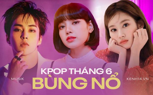Tháng 6 quá nóng dù thiếu BTS: TWICE chạm trán EXO, girlgroup từng chặn đứng Rosé sẽ đối đầu với Lisa? - Ảnh 1.