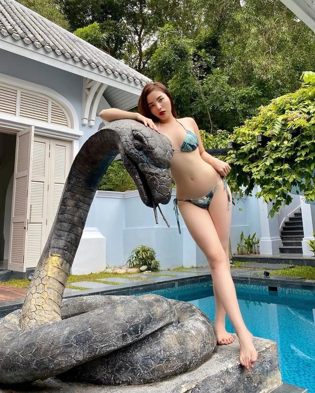 """Hoa hậu Kỳ Duyên dạo này """"hư hỏng"""" quá: Bán nude khoe đường cong bốc lửa trong bồn tắm, hững hờ vòng 1 """"mất máu"""" - Ảnh 10."""