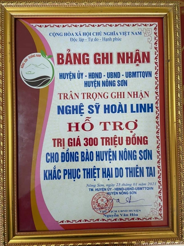 NS Hoài Linh tung giấy tờ từ các địa phương miền Trung, xác nhận loạt hoạt động từ thiện trích từ khoản 13,7 tỷ đồng - Ảnh 10.
