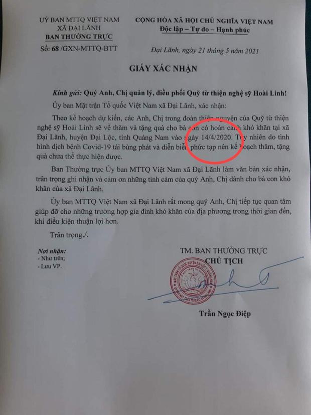 Phát hiện điểm đáng ngờ ở văn bản NS Hoài Linh cung cấp chứng minh có kế hoạch từ thiện - Ảnh 2.