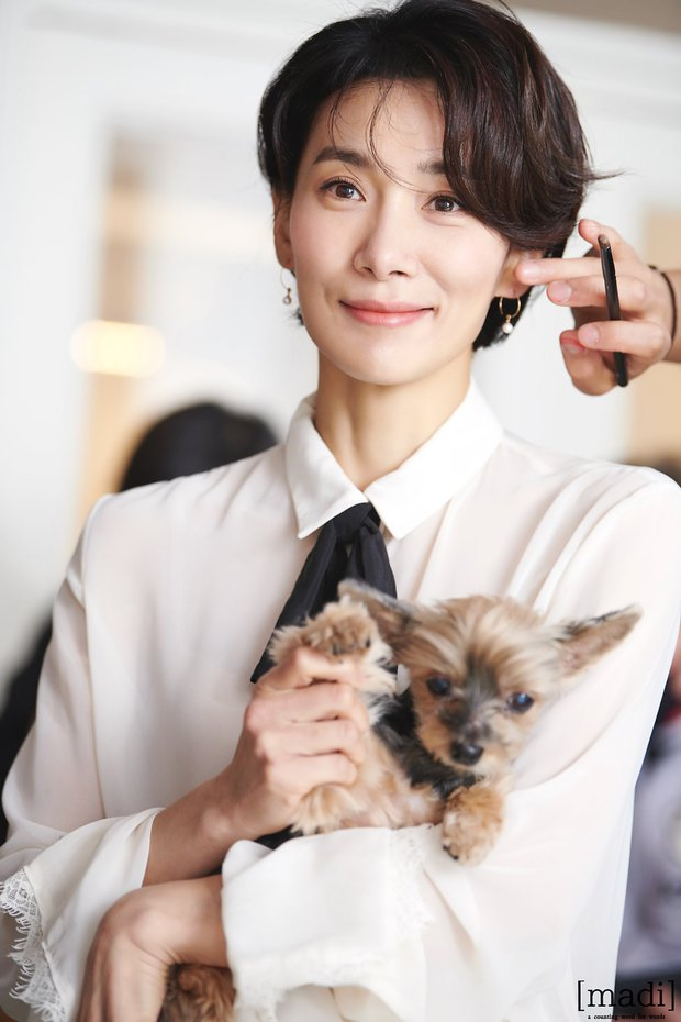 Mợ cả Mine - Kim Seo Hyung: Vẻ đẹp phi giới tính vạn người mê, ác nữ quốc dân mê mẩn sống một mình - Ảnh 13.