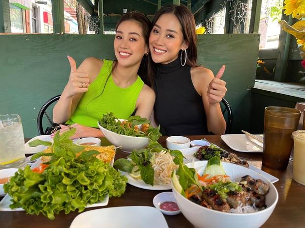 Khánh Vân cuối cùng đã hội ngộ Hoa hậu Malaysia 1 tuần sau Miss Universe, chị em vui mừng khôn xiết cùng làm 1 điều đặc biệt - Ảnh 5.
