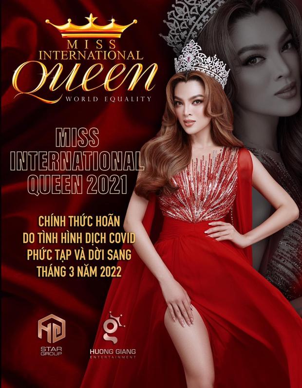 Miss International Queen 2021 chính thức thông báo hoãn lịch thi tại Thái Lan, Trân Đài lên tiếng hé lộ lý do đằng sau - Ảnh 4.
