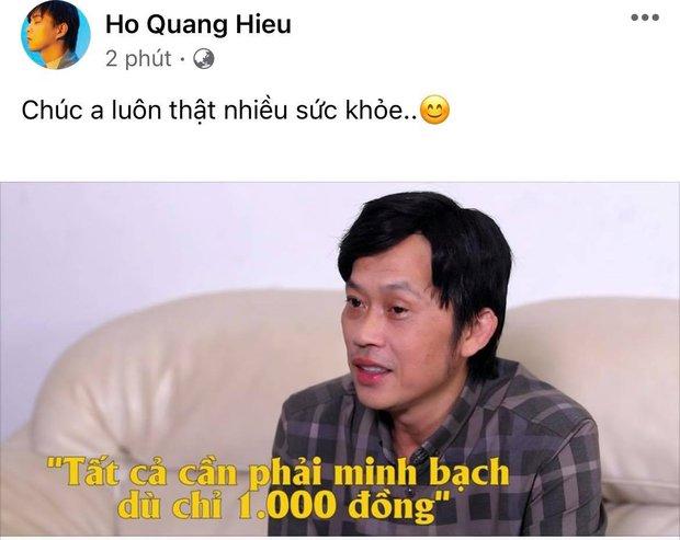 Dàn sao Việt chia sẻ sau clip NS Hoài Linh lên tiếng: Dương Triệu Vũ 4 chữ nói rõ thái độ, 1 ca sĩ ủng hộ mặc khán giả quay lưng - Ảnh 6.