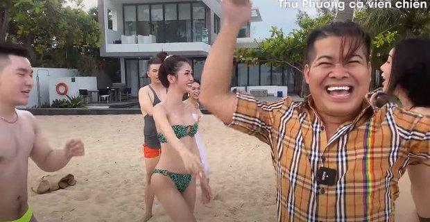 Vedette Vũ Thu Phương tổ chức Running Man phiên bản bikini, chơi xong loạn tiền đình luôn! - Ảnh 10.