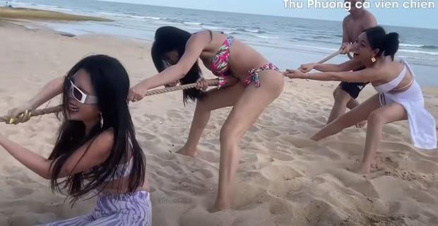 Vedette Vũ Thu Phương tổ chức Running Man phiên bản bikini, chơi xong loạn tiền đình luôn! - Ảnh 5.