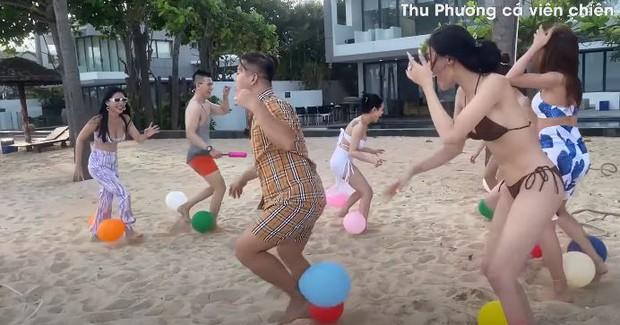 Vedette Vũ Thu Phương tổ chức Running Man phiên bản bikini, chơi xong loạn tiền đình luôn! - Ảnh 6.