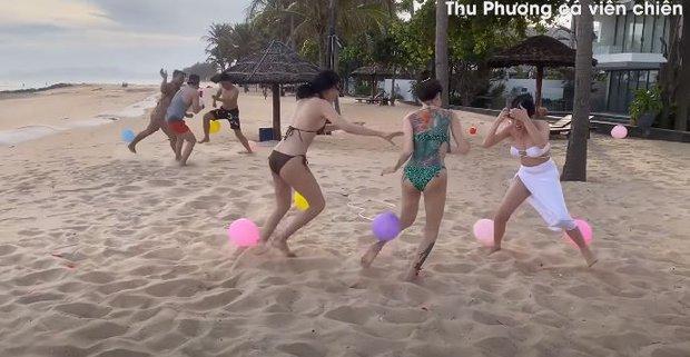 Vedette Vũ Thu Phương tổ chức Running Man phiên bản bikini, chơi xong loạn tiền đình luôn! - Ảnh 7.