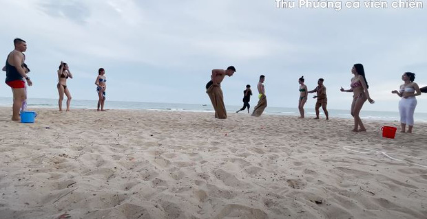 Vedette Vũ Thu Phương tổ chức Running Man phiên bản bikini, chơi xong loạn tiền đình luôn! - Ảnh 8.